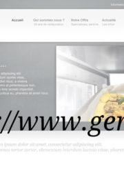 Nouveau site Web GERES Restauration