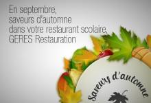 En septembre, saveurs d'automne dans votre restaurant scolaire