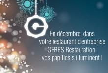 Restauration d'entreprise – GERES RESTAURATION Décembre 2016