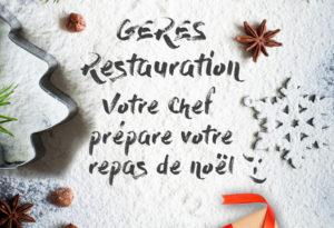 Restauration scolaire– GERES RESTAURATION Décembre 2016
