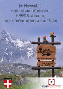 Restauration d'Entreprise - GERES RESTAURATION Novembre 2016