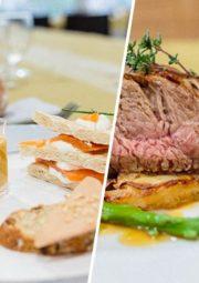 Repas de Noël en entreprise avec GERES Restauration