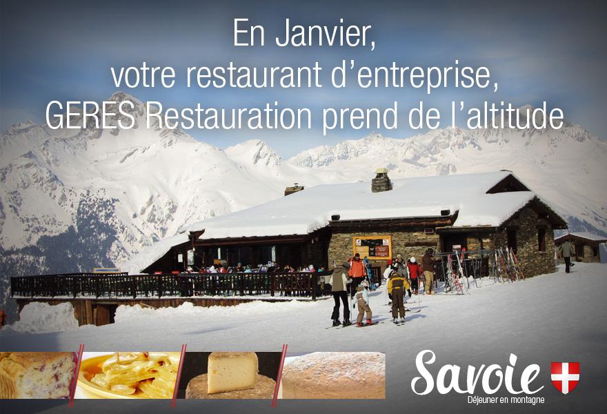 Restaurant d'altitude - animation restauration entreprise – GERES Restauration