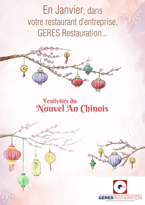 Nouvel an chinois – animation restauration entreprise – GERES Restauration