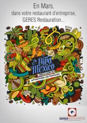 Viva Mexico – animation restauration entreprise – GERES Restauration