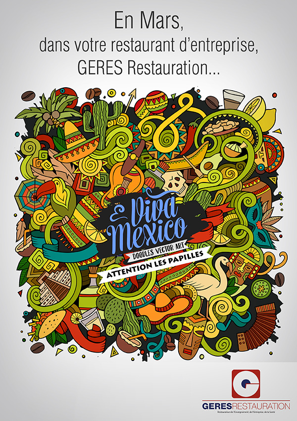 Viva Mexico – animation restauration entreprise – GERES Restauration