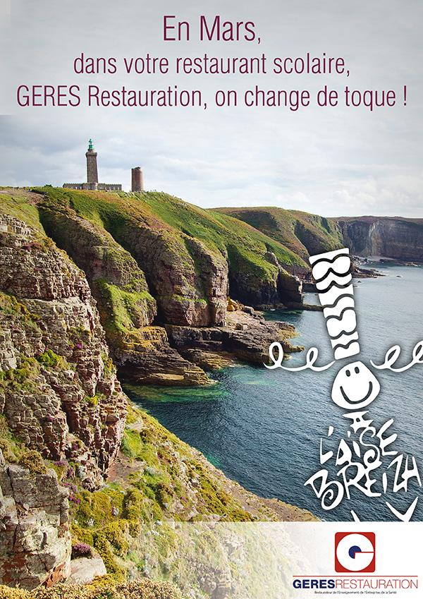 Menu Bretagne – animation restauration entreprise – GERES Restauration