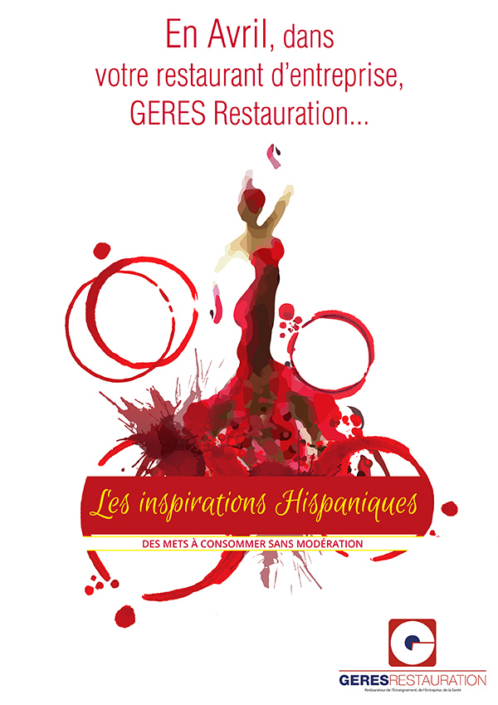 Menu Espagne 2018 GERES Restauration Entreprise