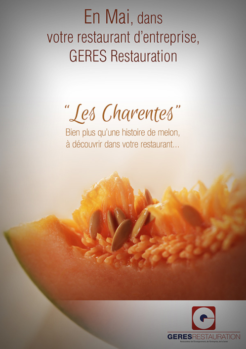 Menu Charente 2018 GERES Restauration Entreprise