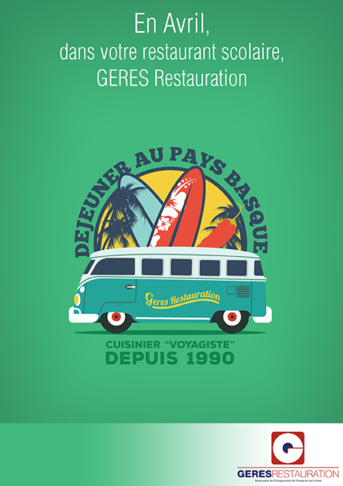Menu Pays Basque 2018 GERES Restauration Scolaire