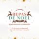 Menu de Noël 2018 pour les restaurants d'entreprise de GERES Restauration