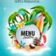 Menu Septembre 2019 pour les restaurants scolaires de GERES Restauration – Antilles