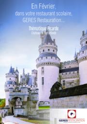 Menu Février 2020 pour les restaurants scolaires de GERES Restauration – Menu Picard