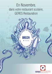 Menu breton pour les restaurants scolaires en novembre