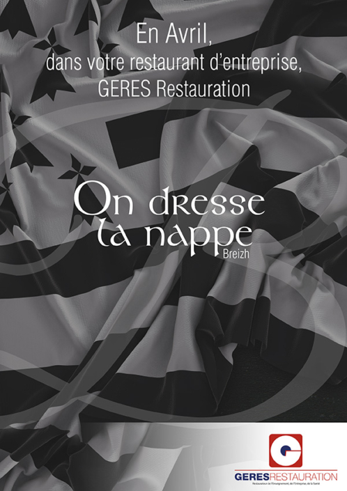 En Avril, dans votre restaurant d'entreprise... menu breton