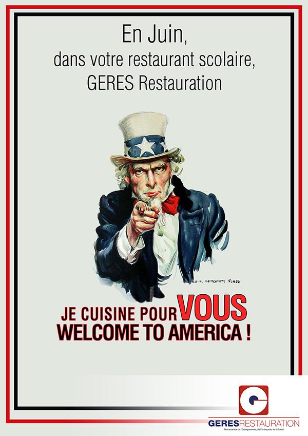 En Juin, dans votre restaurant scolaire… USA