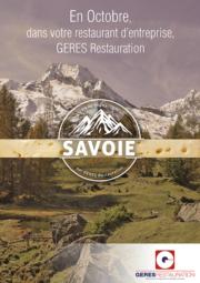 En Octobre, menu Savoie dans votre restaurant d'entreprise
