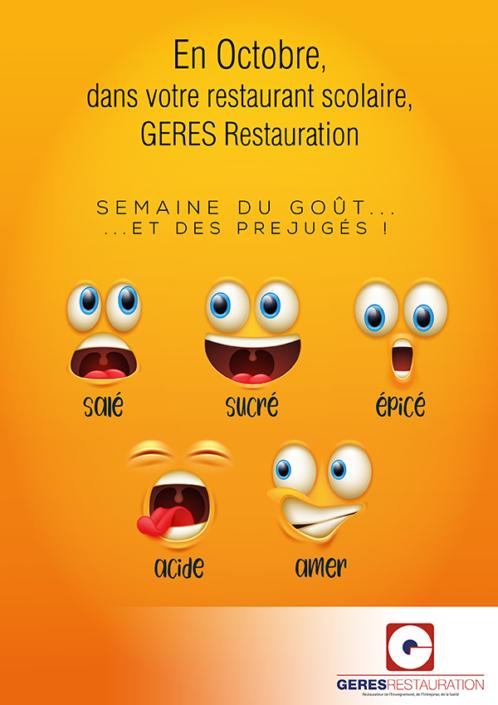 """En Octobre, """"Semaine du goût"""" dans votre restaurant scolaire"""