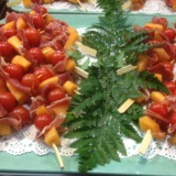 brochette-de-melon-et-jambon-fume